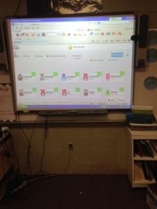 IMG Class Dojo Smartboard 3